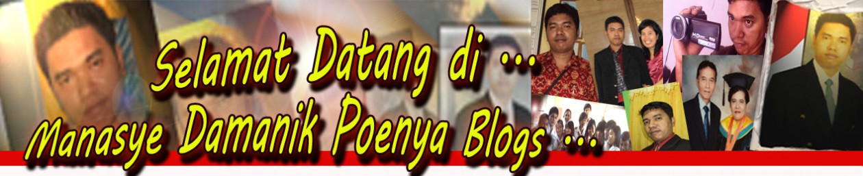 Manasye Damanik punya Blog